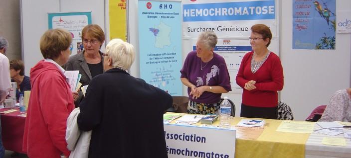 Présence au forum des associations de Saint-Malo le 7 octobre 2012
