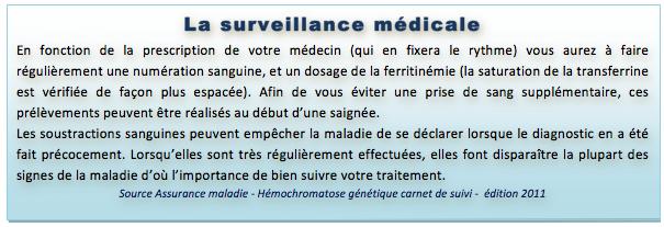 La surveillance médicale