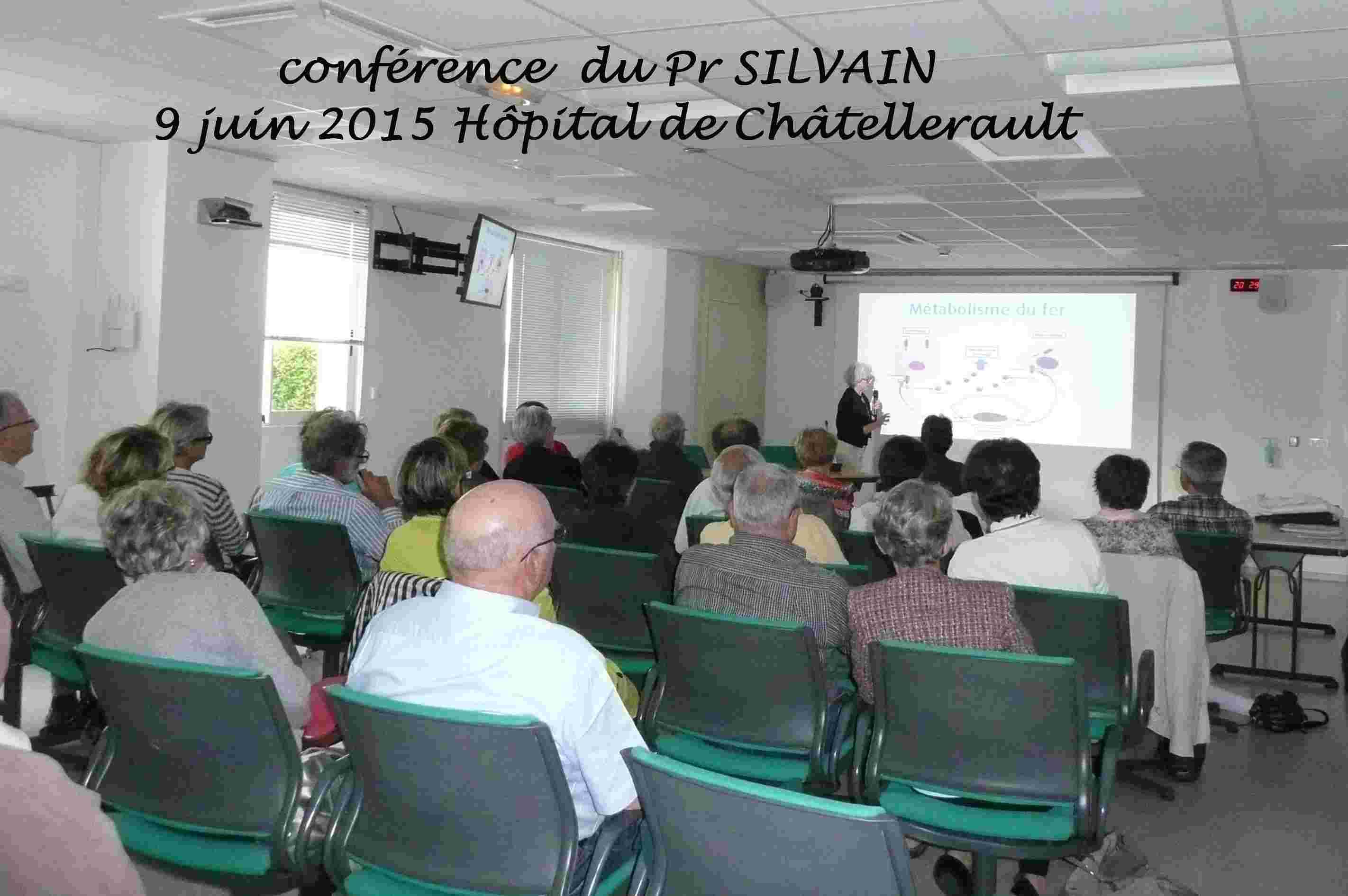 conférence Pr Silvain